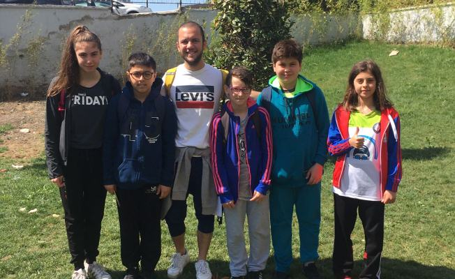 Kobaş'ın sporcuları madalyalara yüzdüler 5'de beş yaptılar