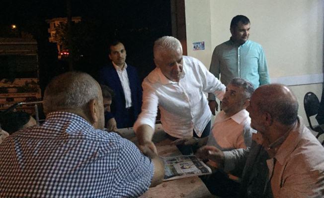 Başkan İspiroğlu, Seçim Çalışmalarına Devam Ediyor