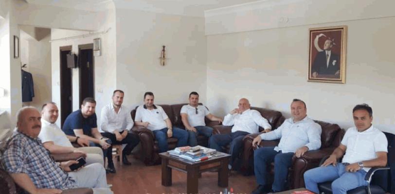 MHP Milletvekili Adayı Mehmet Emin Kaba'ya ziyaret…