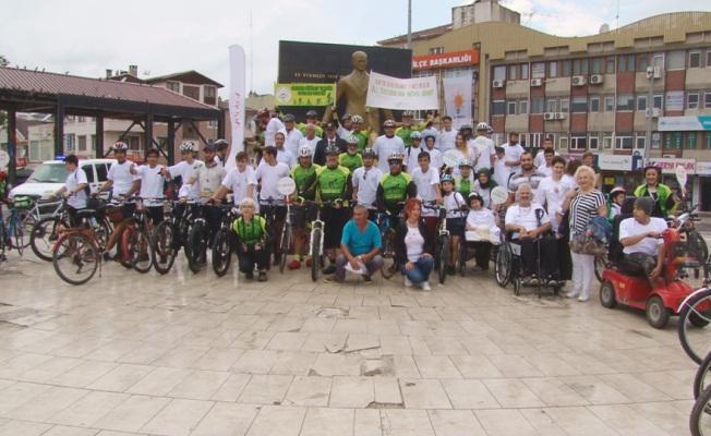 ALS Hastaları için Pedal Çevirdiler
