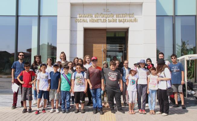 SGM öğrencileri şehri keşfediyor