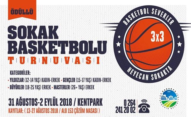 Sokak Basketbolu Turnuvası' Kent Park'ta