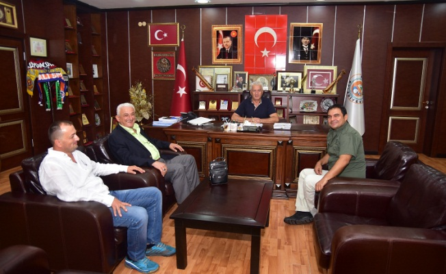 Alper Balcı veda ziyaretlerine devam ediyor