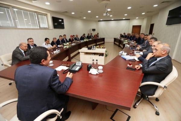 İl Ekonomi ve İl Değerlendirme Toplantıları Vali Balkanlıoğlu Başkanlığında Gerçekleştirildi
