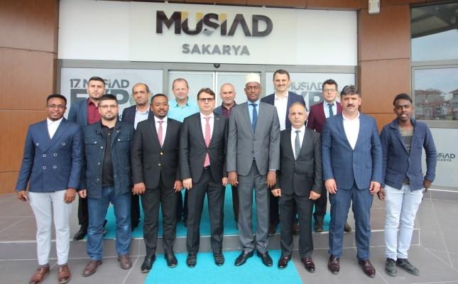MÜSİAD Sakarya, Somali Bakanını Ağırladı.