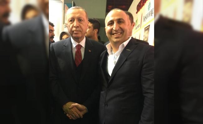 Adem Tok; Başkan Erdoğan ile MÜSİAD Expo'da görüştü