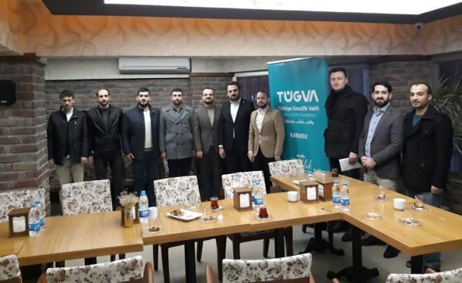 TÜGVA Genel Başkan Yardımcısı Enes EMİNOĞLU Karasu'da