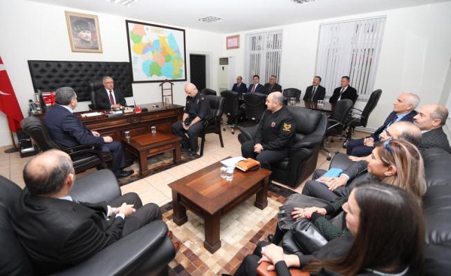 Vali NAYİR Serdivan ve Kaynarca ilçelerini ziyaret etti