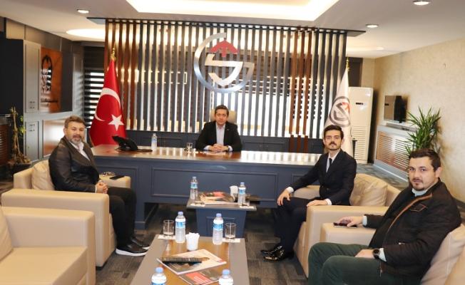 Nuri Oktay; MÜSİAD ve Sakarya GİAD'a ziyaret etti