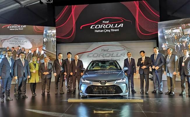 Toyota'nın Yeni Modelinin Hattan iniş Töreni Gerçekleştirildi