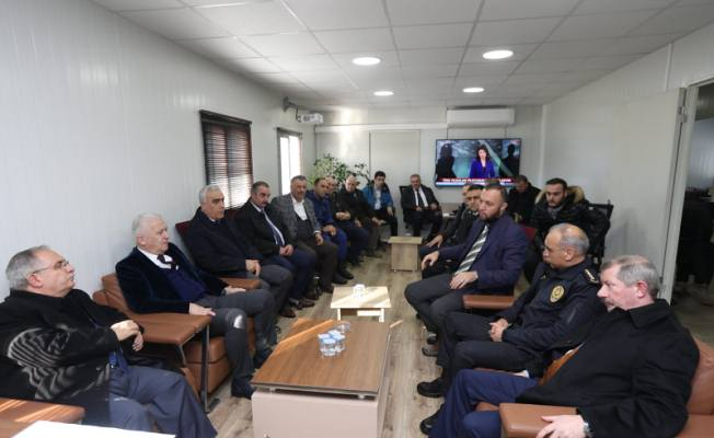 Vali Nayir Karasu'daki Bmc Fabrikası Proje Alanında İncelemelerde Bulundu