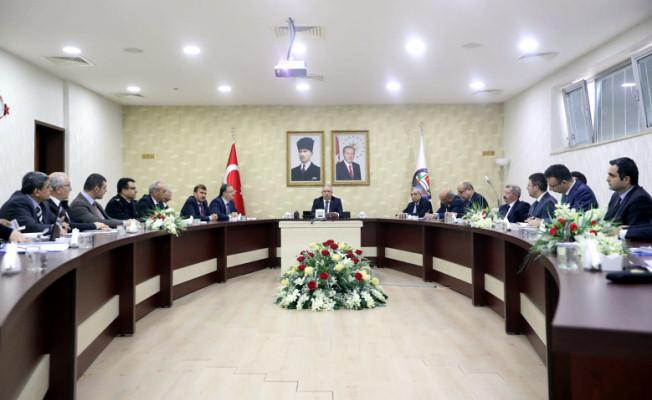 Vali NAYİR Seçim Güvenliği Toplantısına Başkanlık Etti
