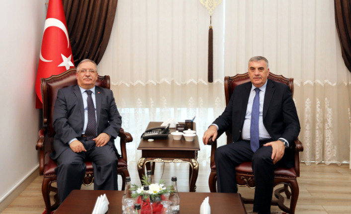 SBB Başkanı Toçoğlu'ndan Vali Nayir'e Ziyaret