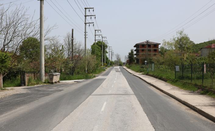 Söğütlü'de asfalt çalışmaları başlıyor