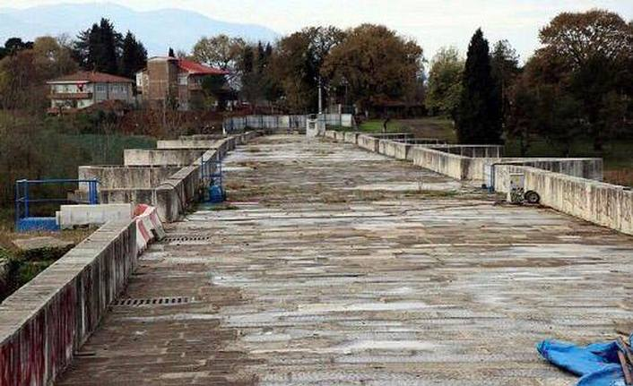 Justinianus Köprüsü'nde Restorasyon çalışmaları devam ediyor