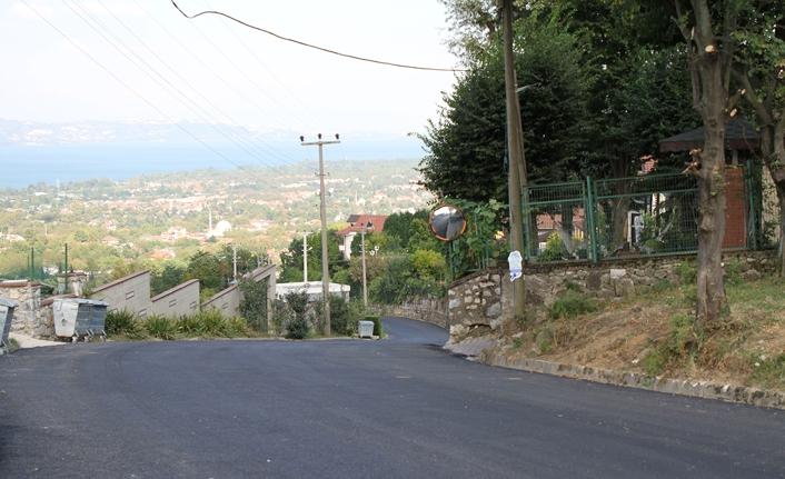 Sapanca'da yollar Büyükşehir yenilendi