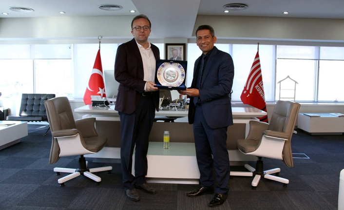 Baro Başkanı Burak'tan Duran'a 'hayırlı olsun' ziyareti