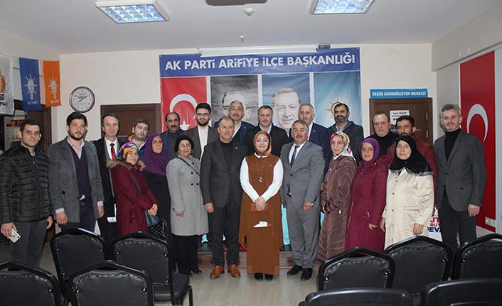 Çiğdem Erdoğan Atabek'ten Arifiye Çıkarması