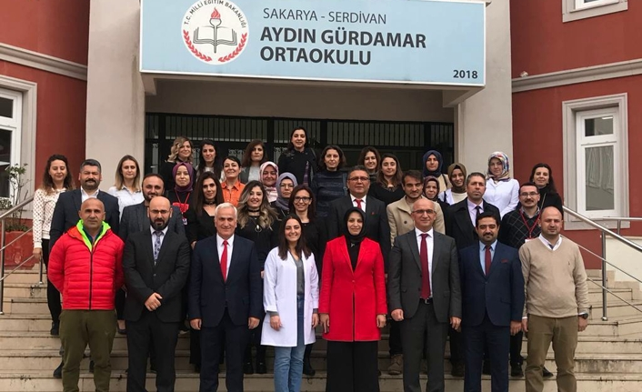 Dr. Sadri ŞENSOY'un Sakarya ziyareti