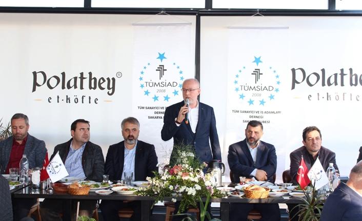 TÜMSİAD'ın toplantısında üretim ve ihracat konuşuldu.