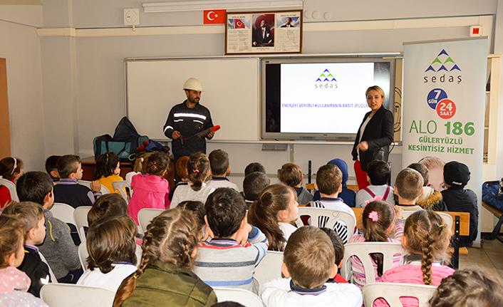 SEDAŞ Öğrencilere Enerji Tasarrufunu Anlattı