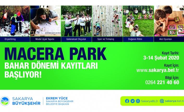 Macera Park'ta bahar dönemi kayıtları başladı