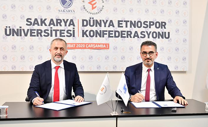 SAÜ ile Etnospor Arasında İşbirliği