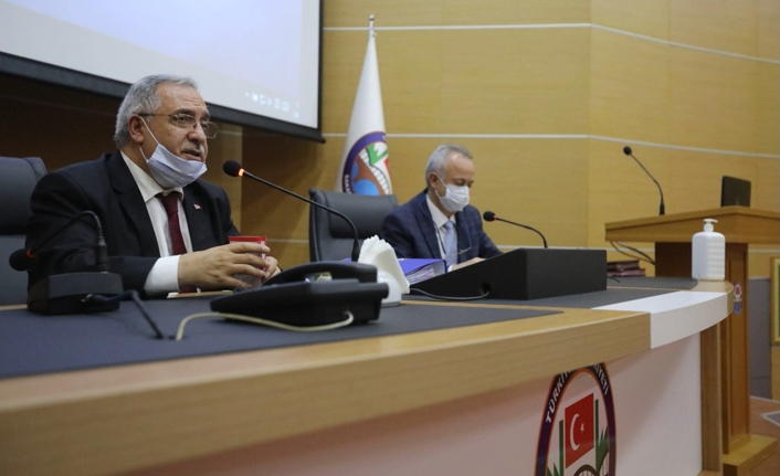 Vali Nayir İl Pandemi Kurulu Toplantısına Başkanlık Etti