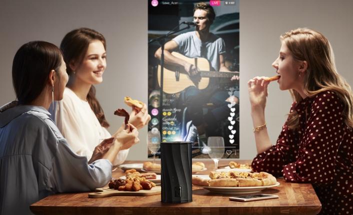 """Acer Projektörler """"Evde Kalırken"""" En Keyifli Anlara Eşlik Ediyor"""