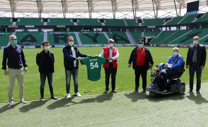 Engellilere MüjdeYaşayan Stadda engelleri kaldırdık