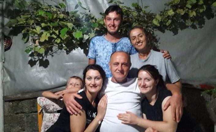 Eşinden ve çocuklarından büyük Jest