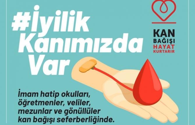 İmam Hatiplerden Kan Bağışı