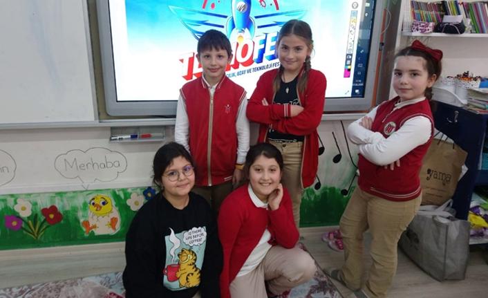 Osmanbey İlkokulu'nun 'Isı Bulan' projesi Teknofest 2020'de ilk elemeyi geçti