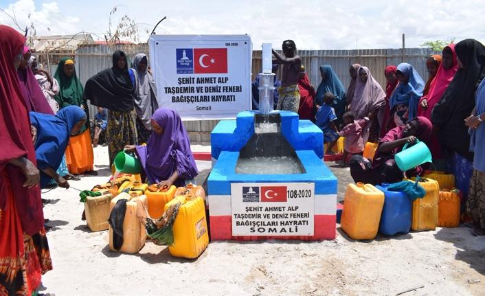 PÖH Kahramanı adına su kuyusu açıldı