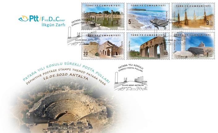 """Ptt AŞ'den """"Patara yılı konulu sürekli posta pulları"""""""