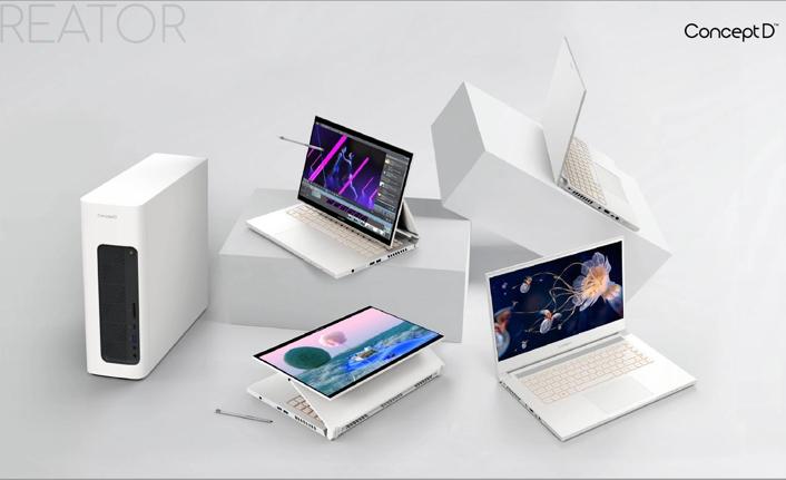 Acer, yeni özelliklerle güncellenen modellerini ve en yeni teknolojilerini tanıttı