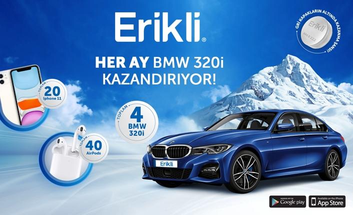 Erikli'nin BMW 320i kazandırankampanyasına yoğun ilgi