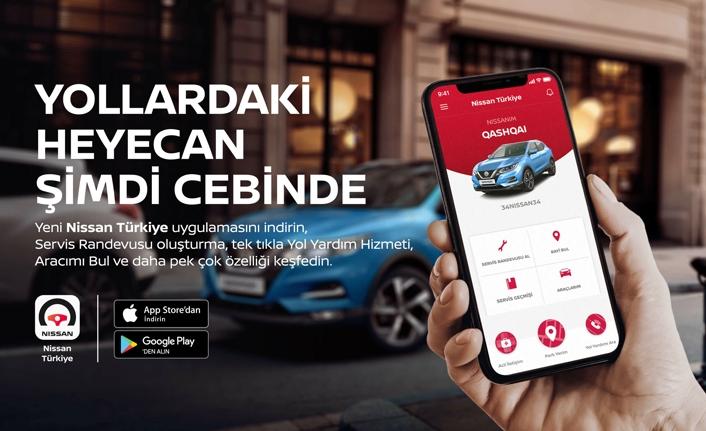 NISSAN Türkiye Mobil Uygulaması Devrede