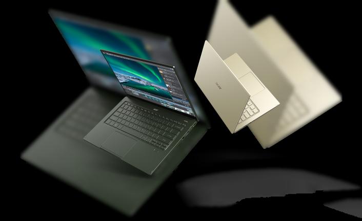 Yeni Acer Swift 5 Taşınabilirlik, Stil ve Performansı Bir Araya Getiriyor