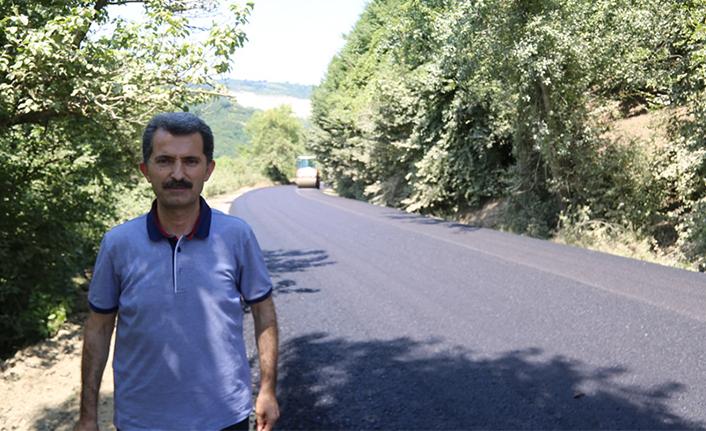 Kırsal Mahallelerde asfalt çalışmaları devam ediyor