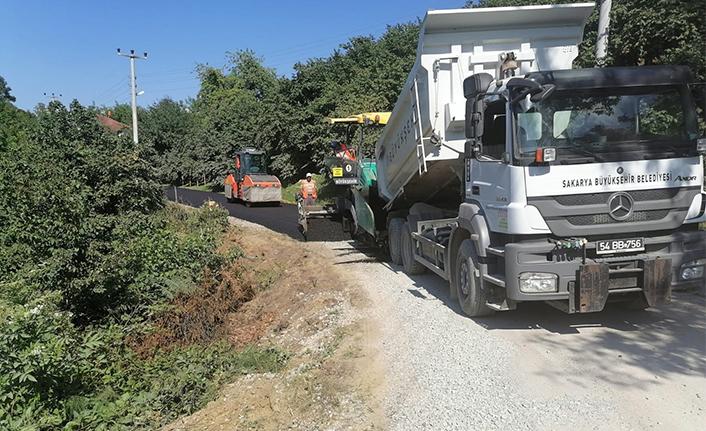 Kocaali'de asfalt çalışmalarının ikinci etabı başladı
