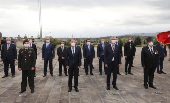 19 Eylül Gaziler Günü Vesilesiyle Çelenk Sunma Töreni Düzenlendi
