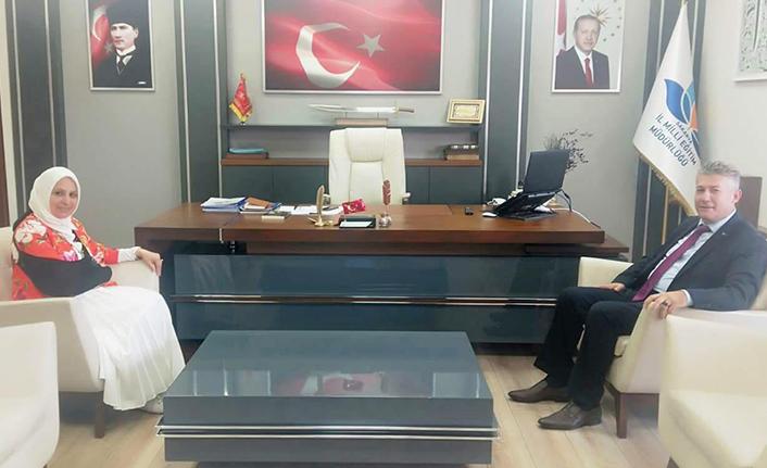 BİK Müdürü Çorbacı'dan Durmuş'a İadeiziyaret