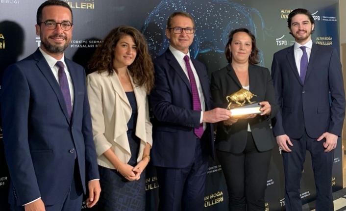 """Gedik Yatırım TSBP Altın Boğa Ödülleri'nde """"Pay İhracına Aracılık Lideri"""""""
