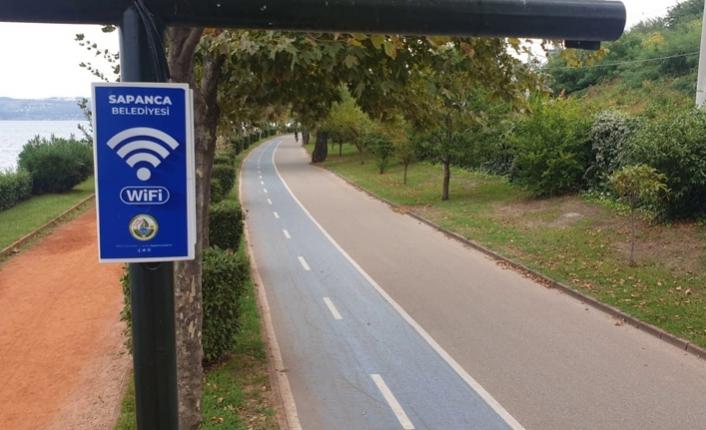 Sapanca Belediyesi'nden Ücretsiz İnternet Hizmeti
