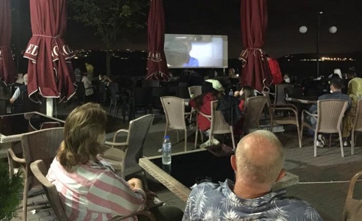 Sapanca'da Yılın Son Sinema Film Gösterimi Yapıldı