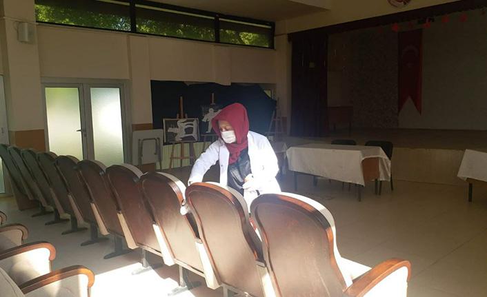 Söğütlü'de Okullar Eğitim-Öğretime Hazır