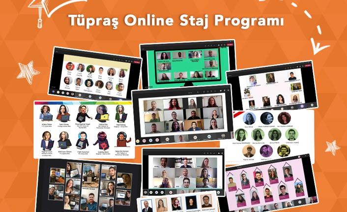 Tüpraş, Online Staj Programı ile Öğrencilerin Gelişimlerini Desteklemeye Devam Ediyor
