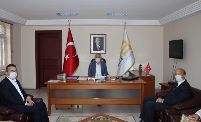 AK Parti Arifiye İlçe Başkanlığından Başkan Karakullukçu'ya Nezaket Ziyareti