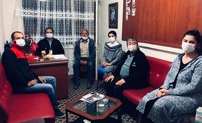 Chp il başkanı Ecevit Keleş Taraklı ilçe teşkilatını ziyaret etti